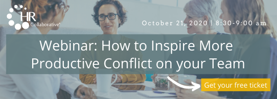 Productive Conflict Webinar | October 21, 8:30 - 9 am